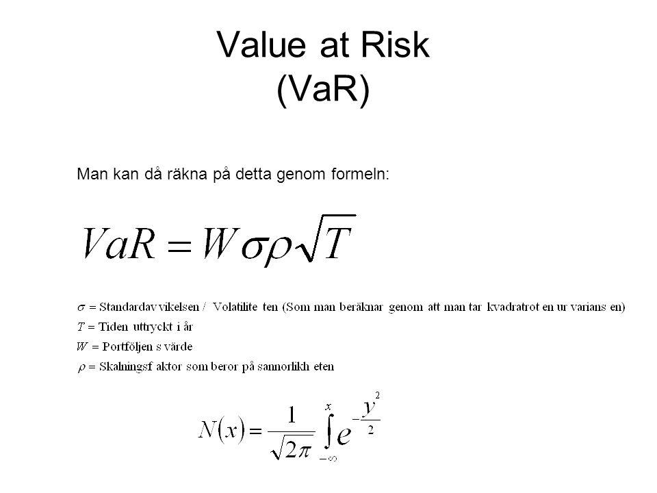 Man kan då räkna på detta genom formeln: