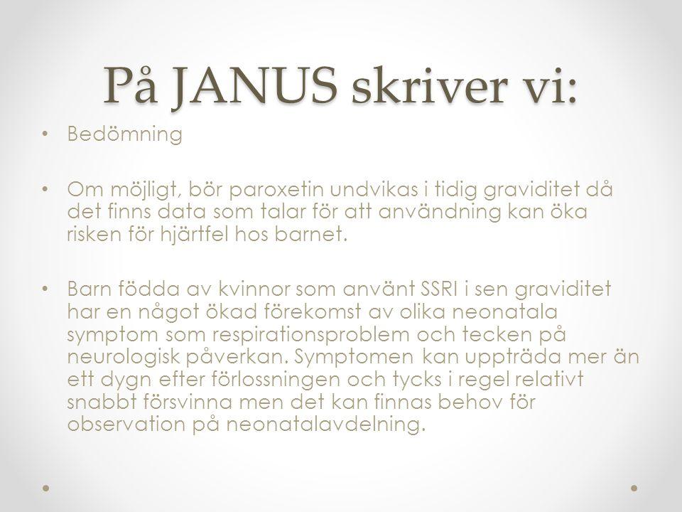 På JANUS skriver vi: Bedömning