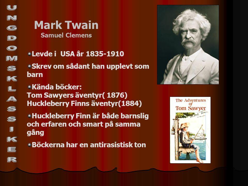 Mark Twain Samuel Clemens