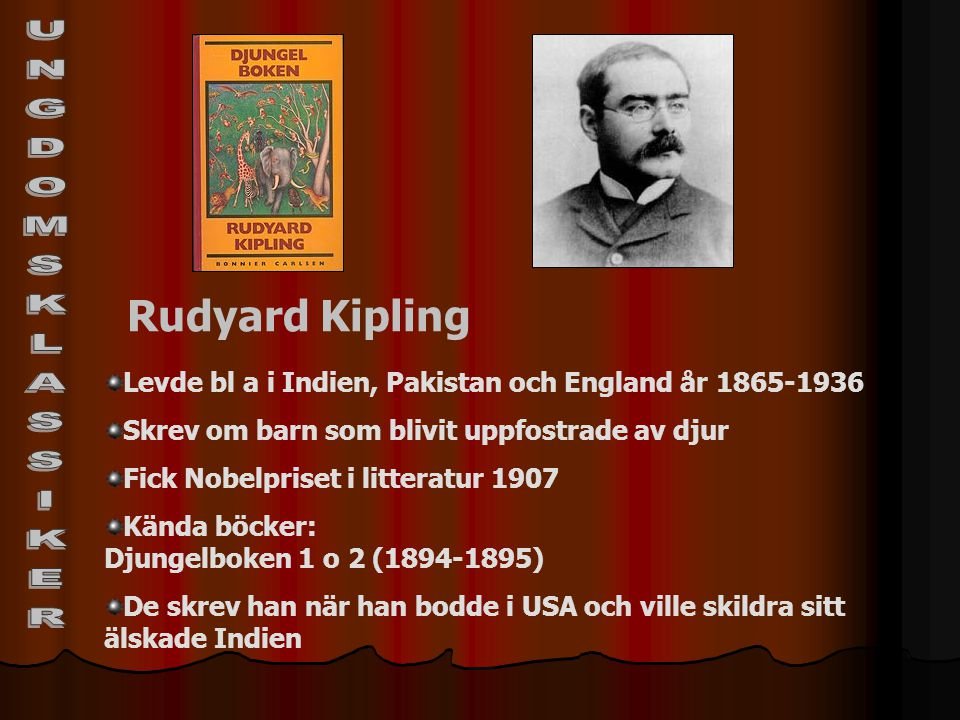 UNGDOMSKLASSIKER Rudyard Kipling