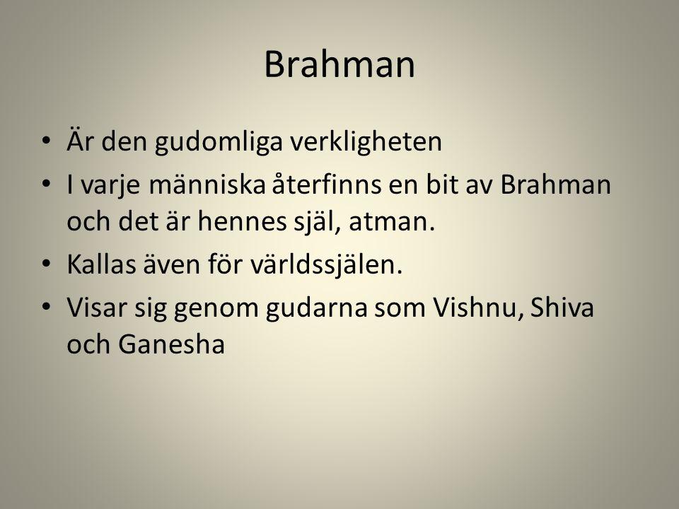 Brahman Är den gudomliga verkligheten