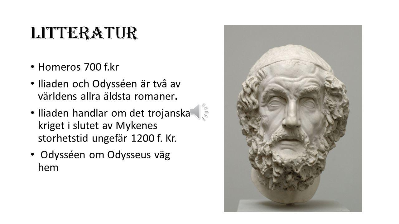 LITTERATUR Homeros 700 f.kr