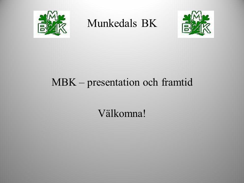 MBK – presentation och framtid Välkomna!