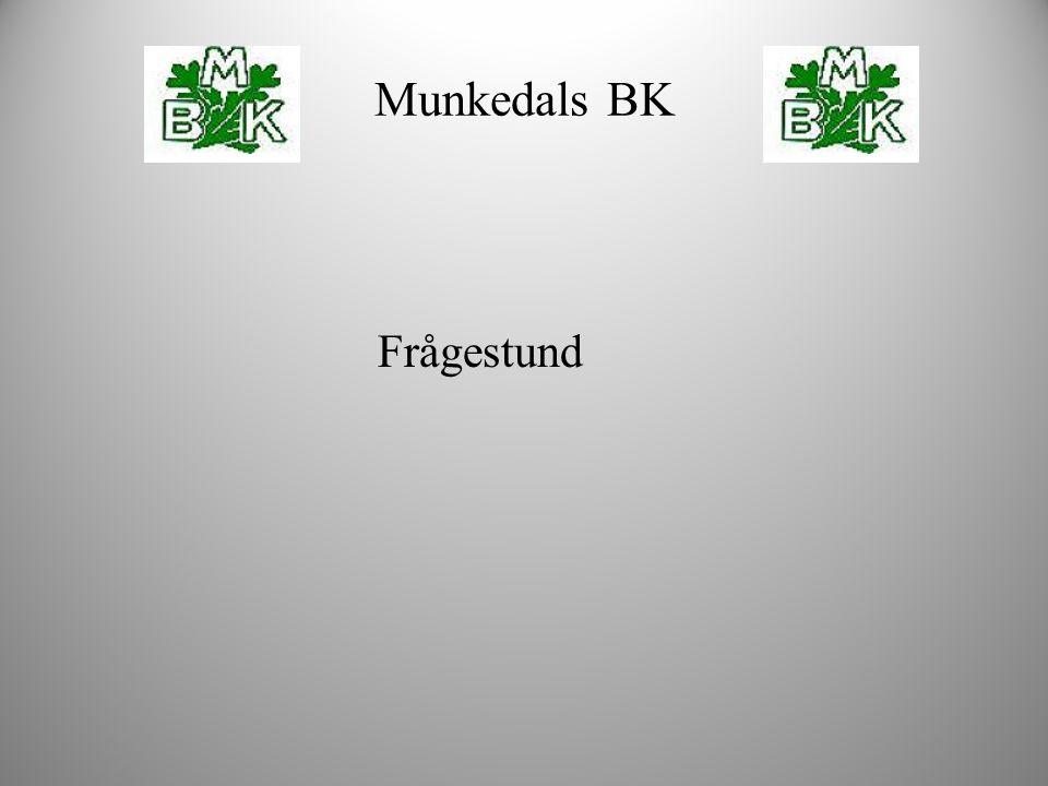 Munkedals BK Frågestund