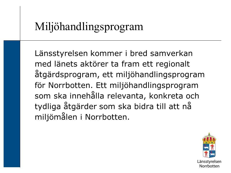 Miljöhandlingsprogram