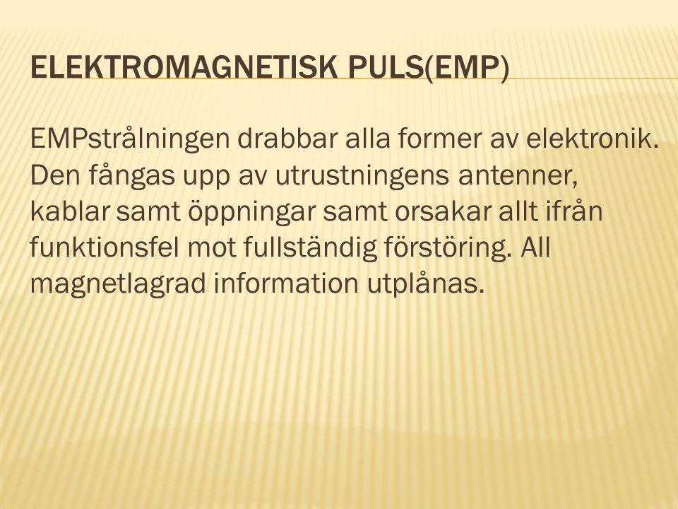 elektromagnetisk puls(EMP)