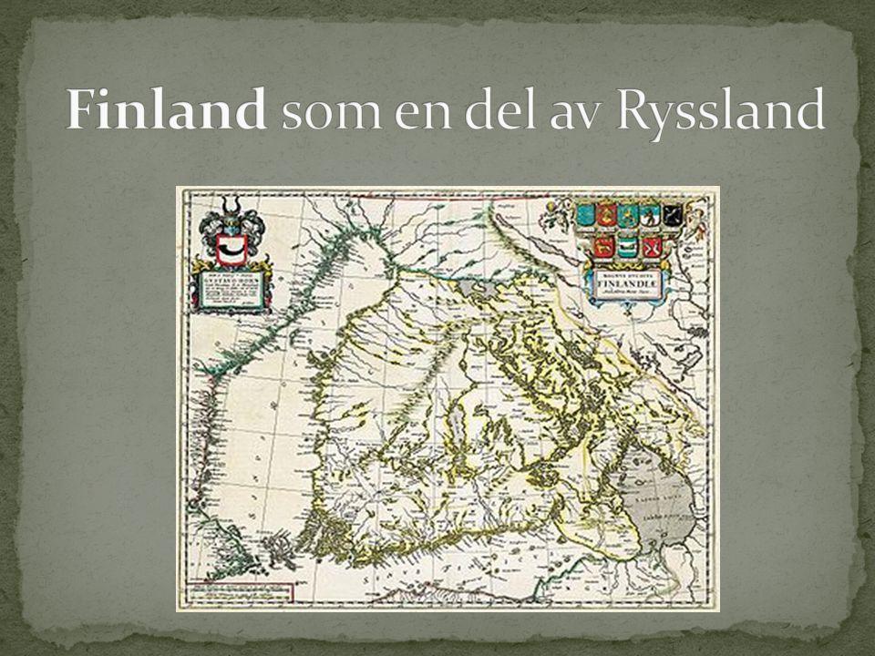 Finland som en del av Ryssland