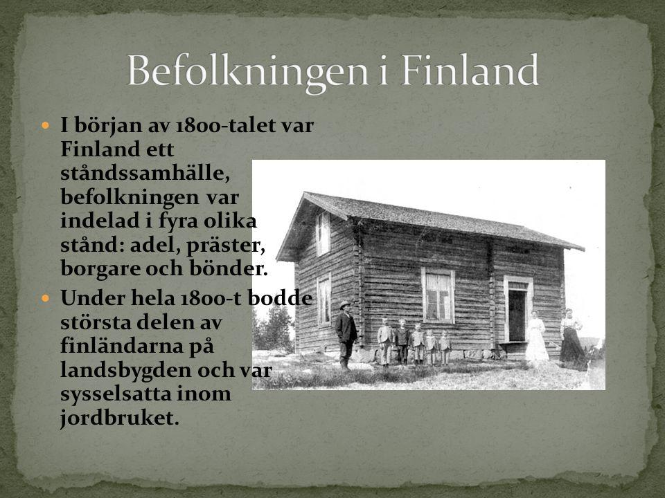 Befolkningen i Finland