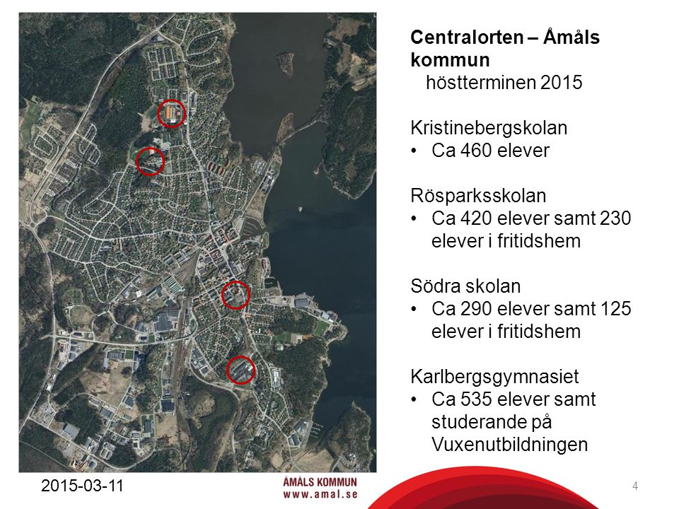 Centralorten – Åmåls kommun höstterminen 2015