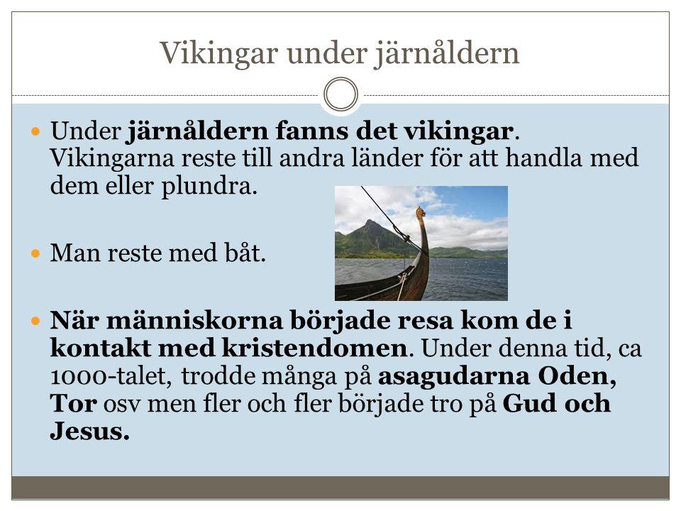 Vikingar under järnåldern