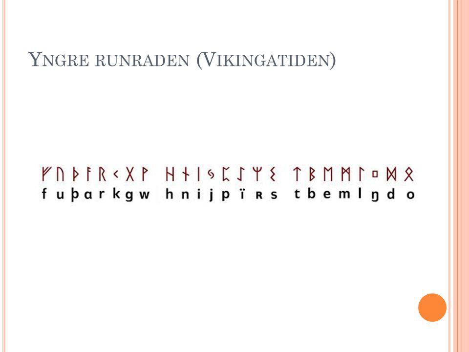 Yngre runraden (Vikingatiden)