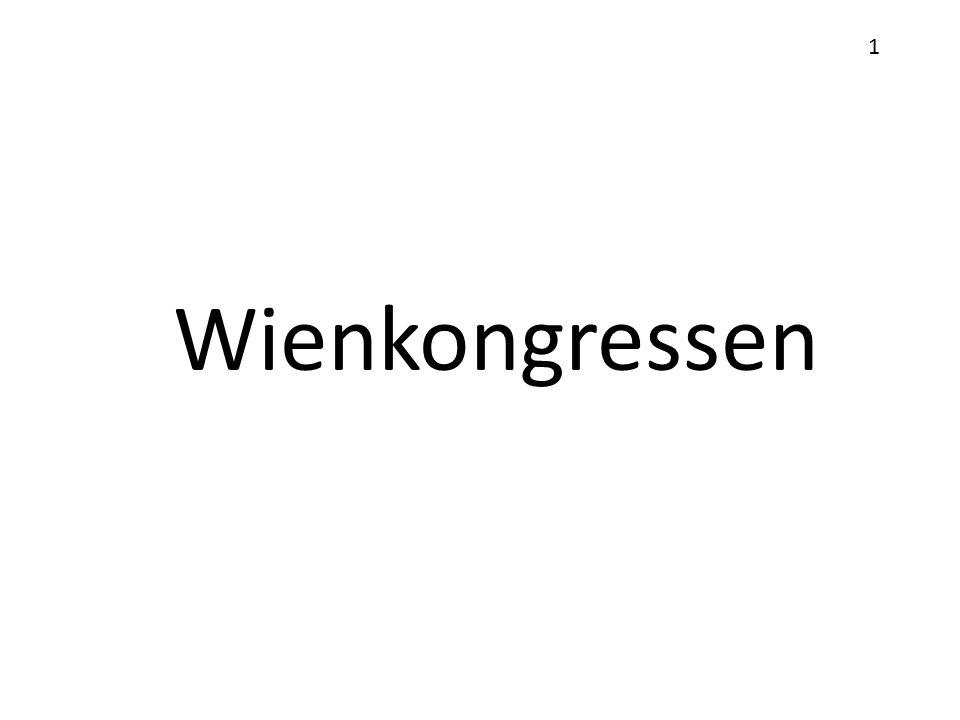 1 Wienkongressen