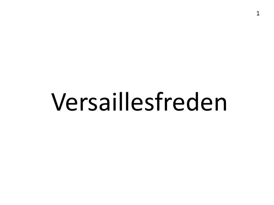 1 Versaillesfreden