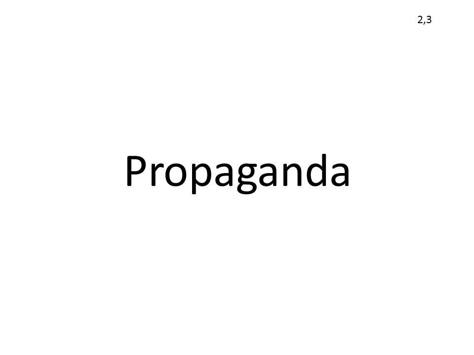 2,3 Propaganda