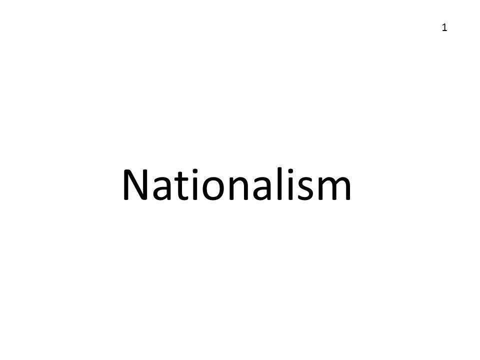 1 Nationalism