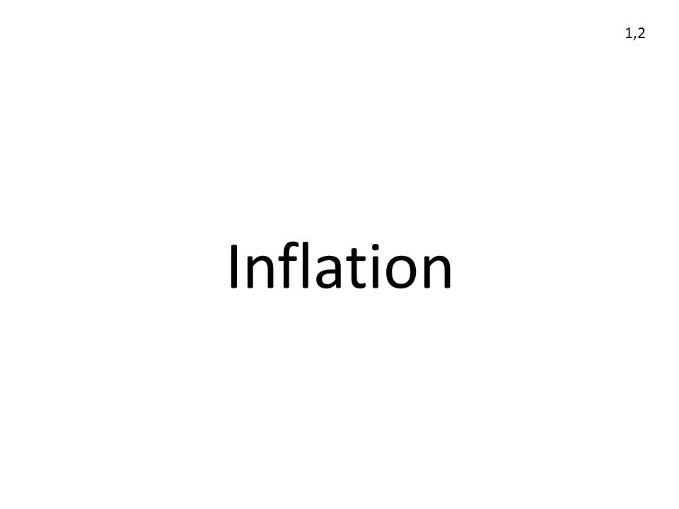1,2 Inflation