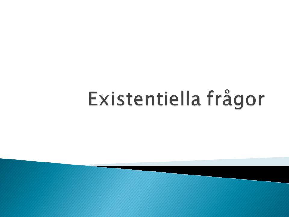 Existentiella frågor