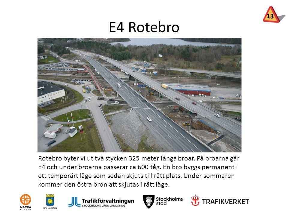13 E4 Rotebro.