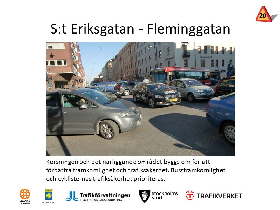 S:t Eriksgatan - Fleminggatan