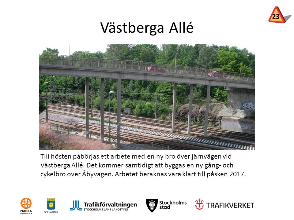 23 Västberga Allé.