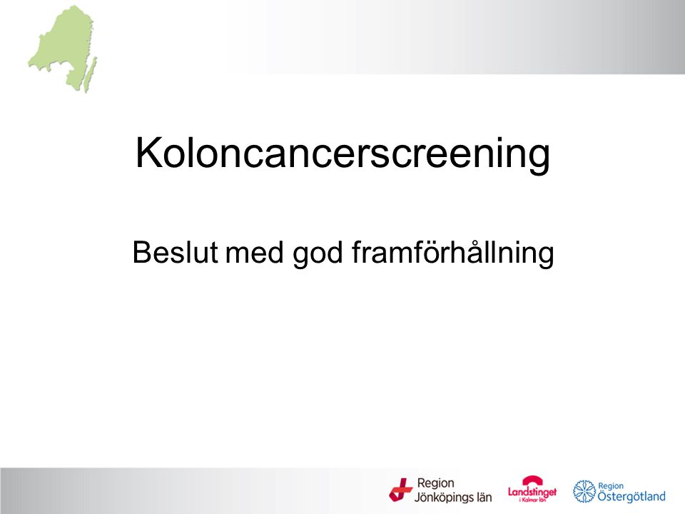 Koloncancerscreening