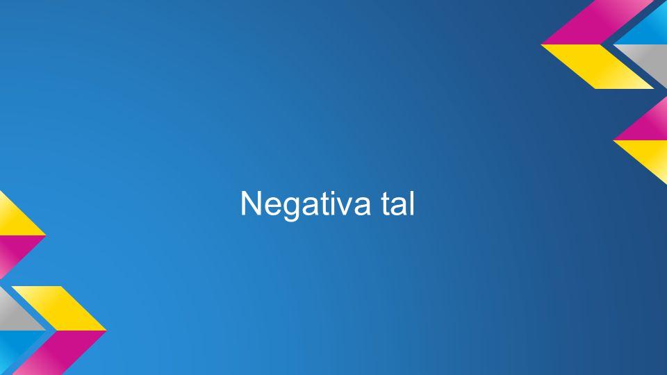 Negativa tal