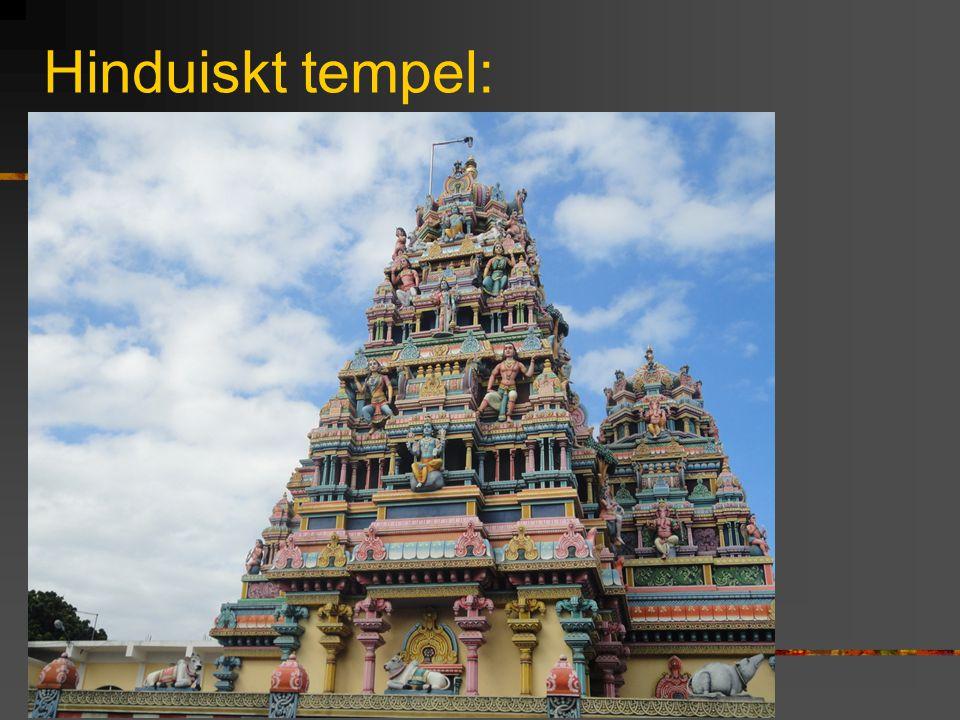 Hinduiskt tempel: