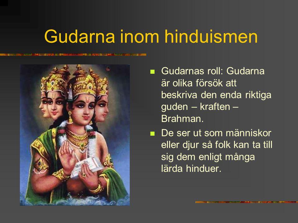 Gudarna inom hinduismen