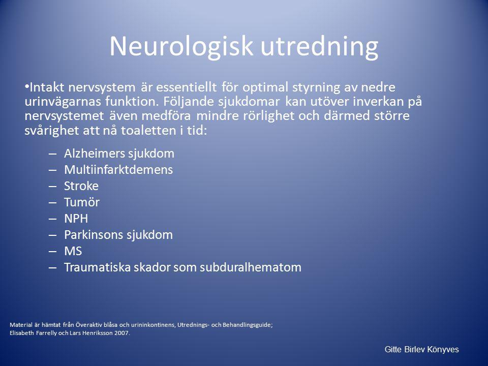 Neurologisk utredning