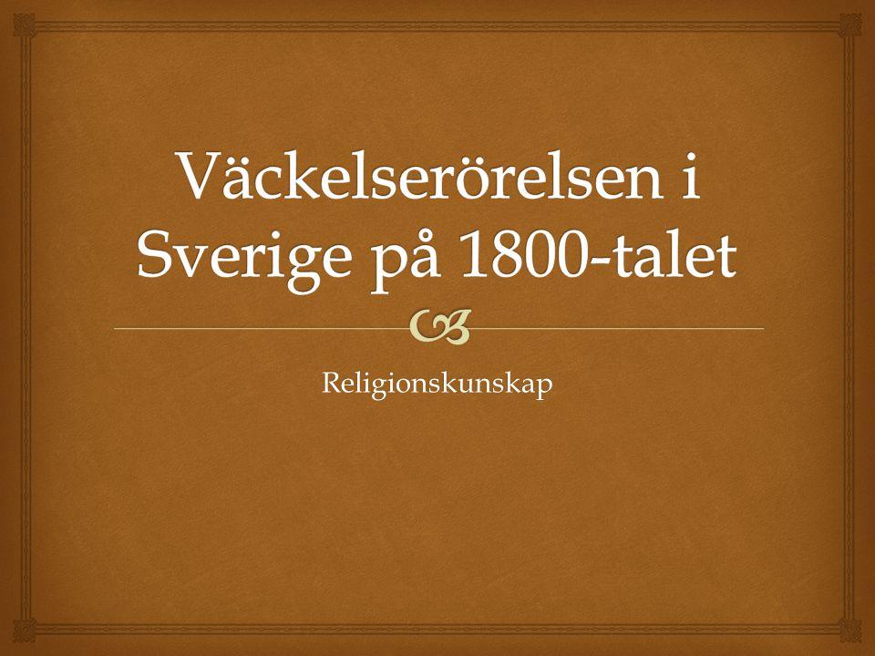 Väckelserörelsen i Sverige på 1800-talet