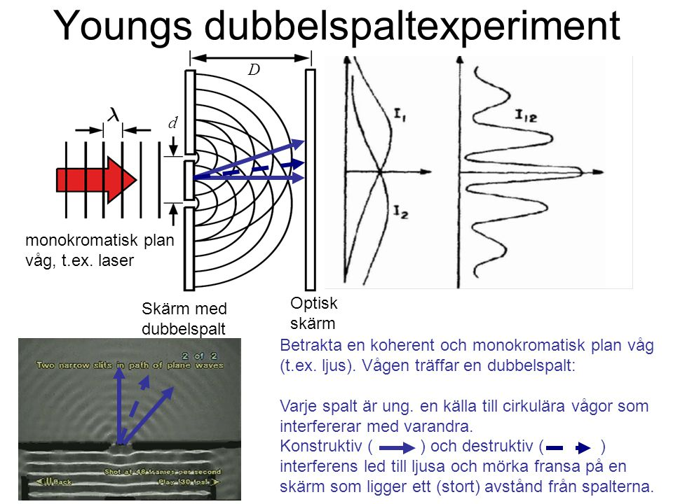 Youngs dubbelspaltexperiment