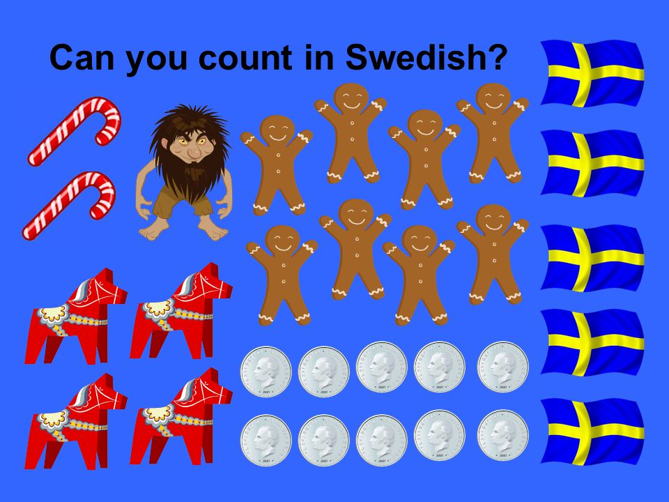 Can you count in Swedish