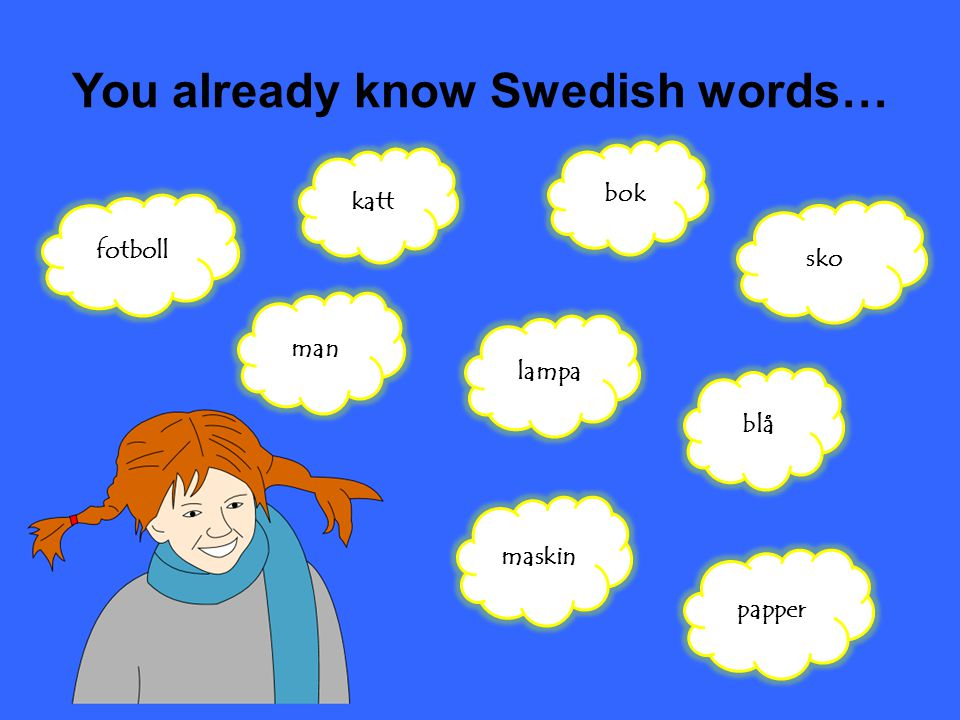 You already know Swedish words…