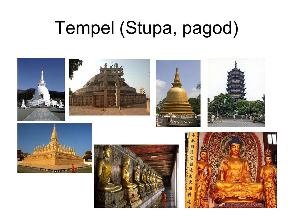 Tempel (Stupa, pagod)