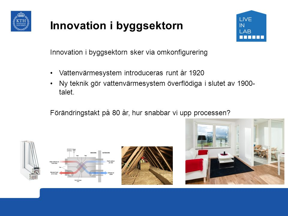 Innovation i byggsektorn