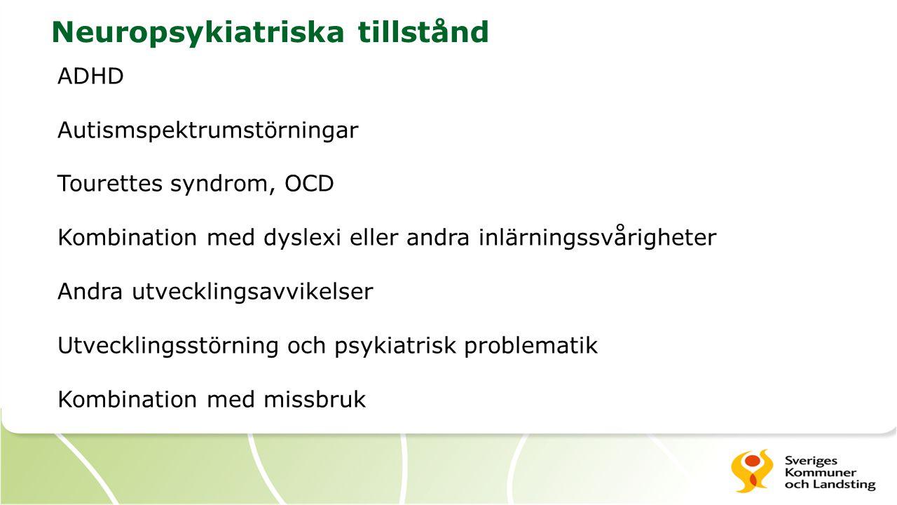 Neuropsykiatriska tillstånd