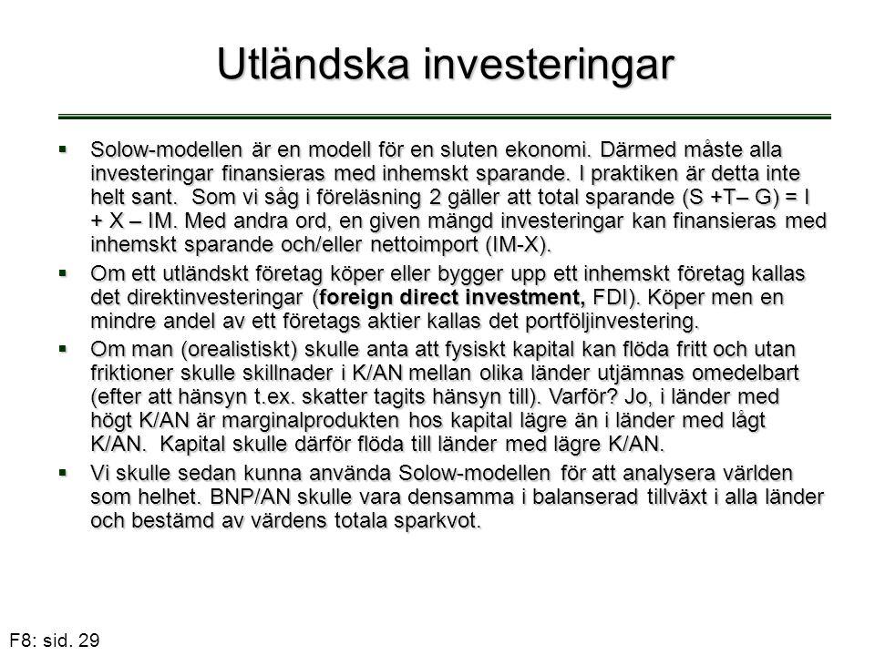 Utländska investeringar
