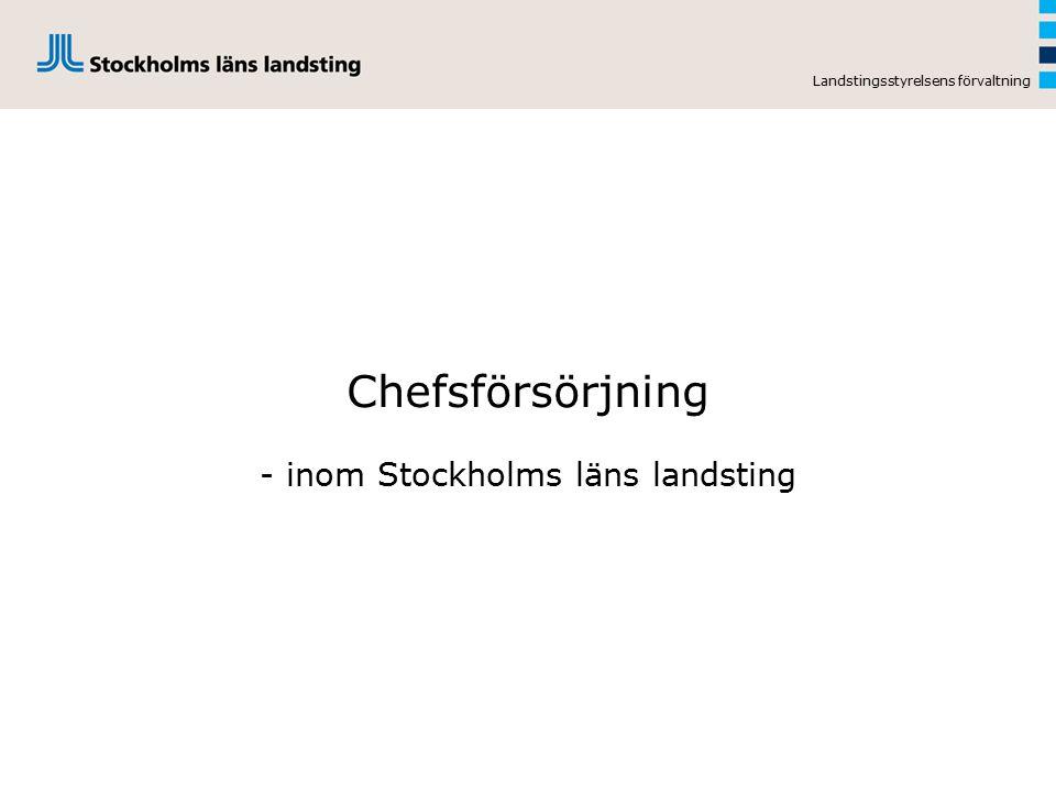 - inom Stockholms läns landsting