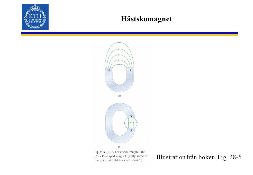 Hästskomagnet Illustration från boken, Fig. 28-5.