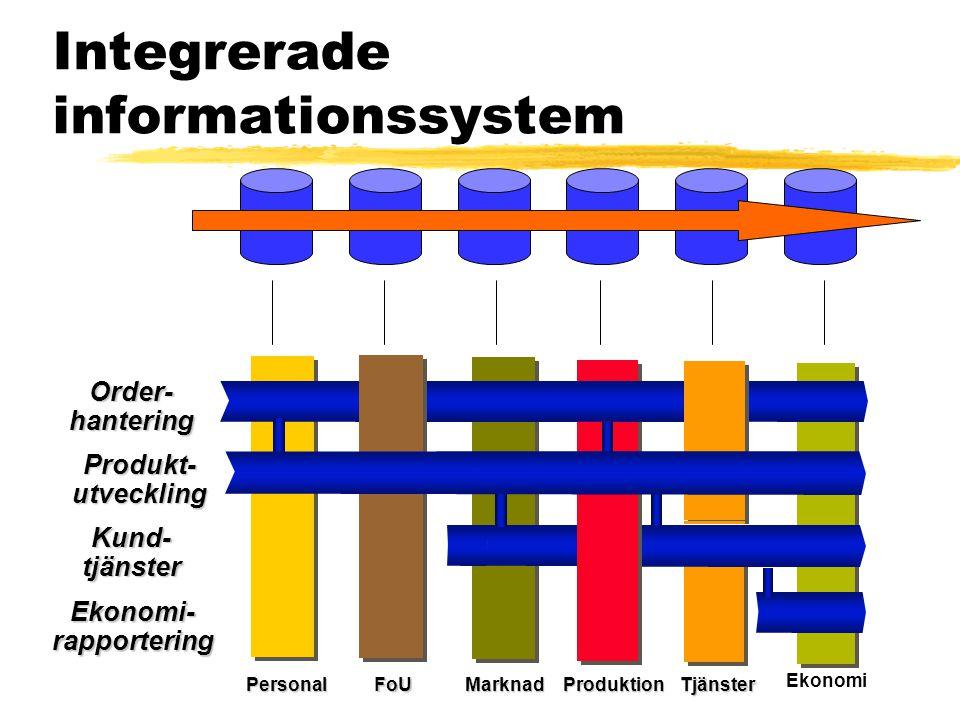 Integrerade informationssystem