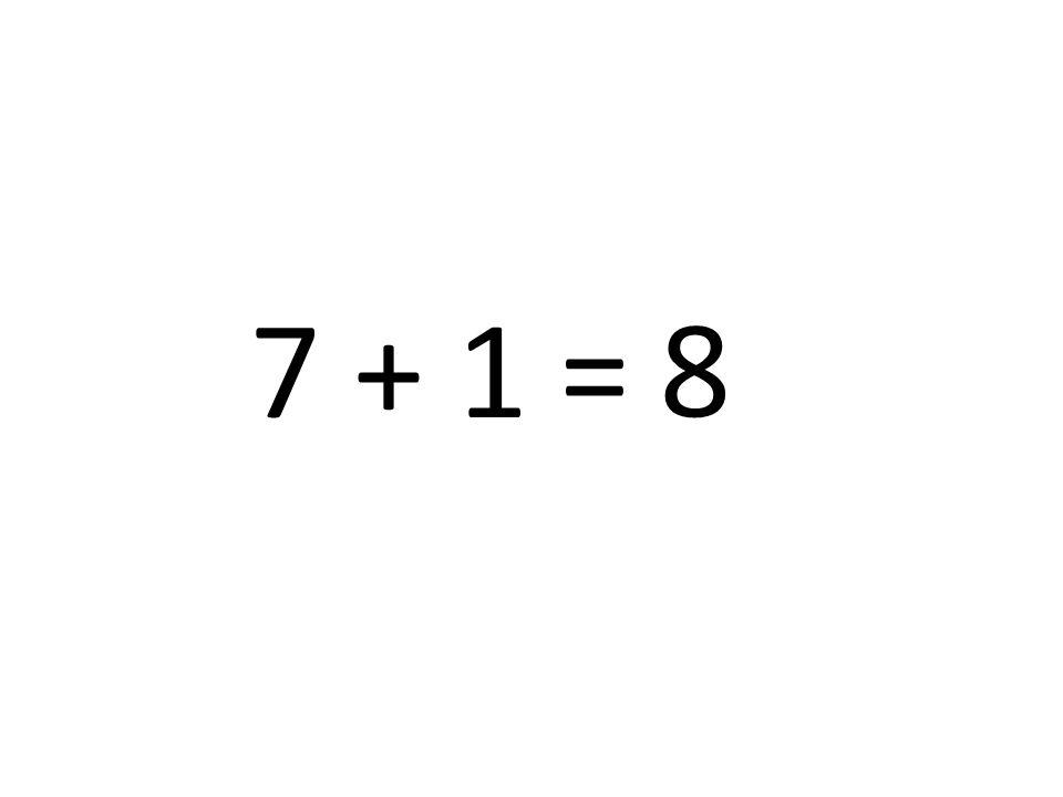 8 7 + 1 =