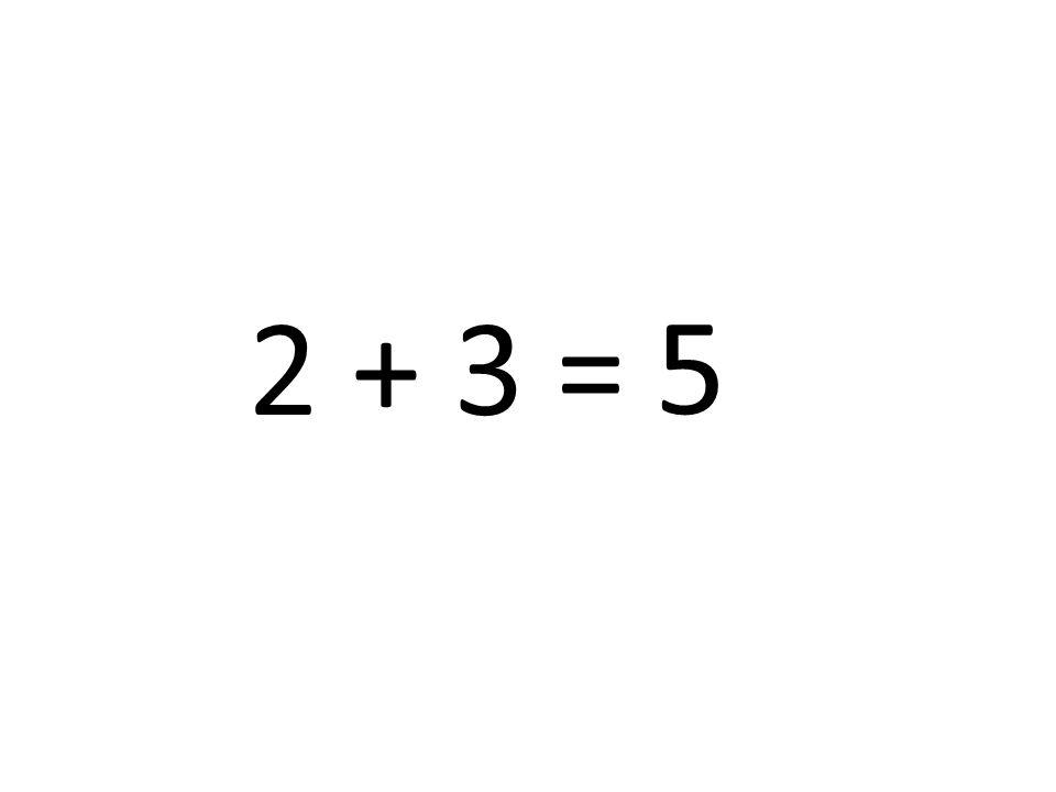 5 2 + 3 =