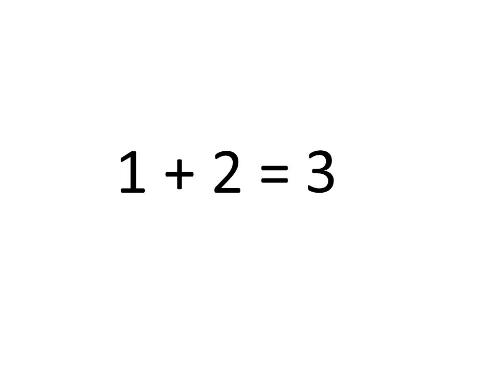 3 1 + 2 =