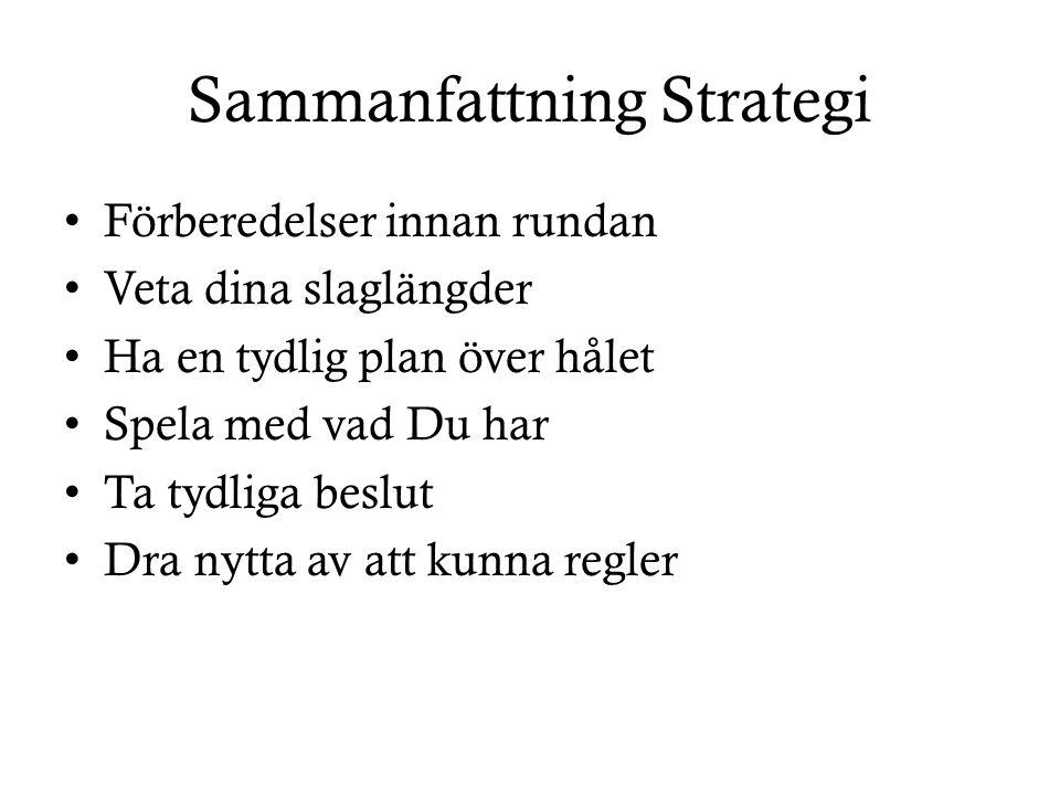 Sammanfattning Strategi