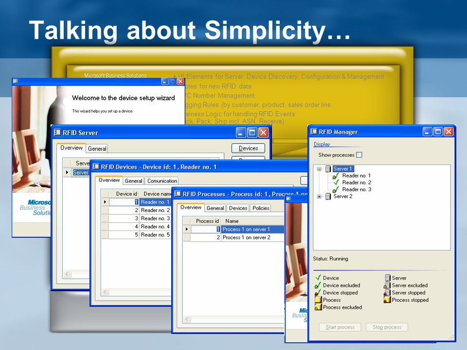 Talking about Simplicity…