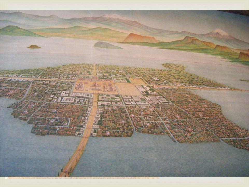 Aztekerna kallade sig själva Mexicas.