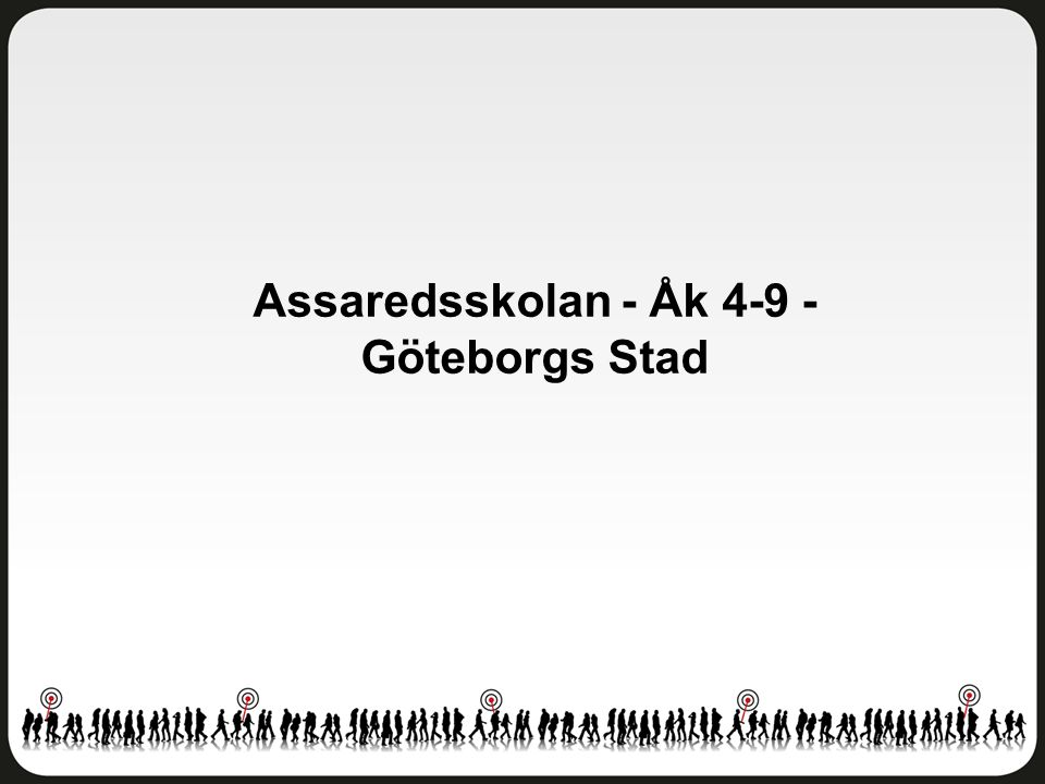 Assaredsskolan - Åk 4-9 - Göteborgs Stad