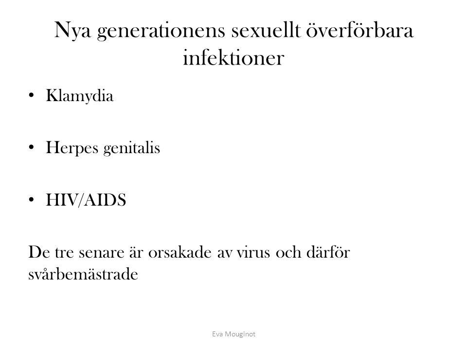 Nya generationens sexuellt överförbara infektioner