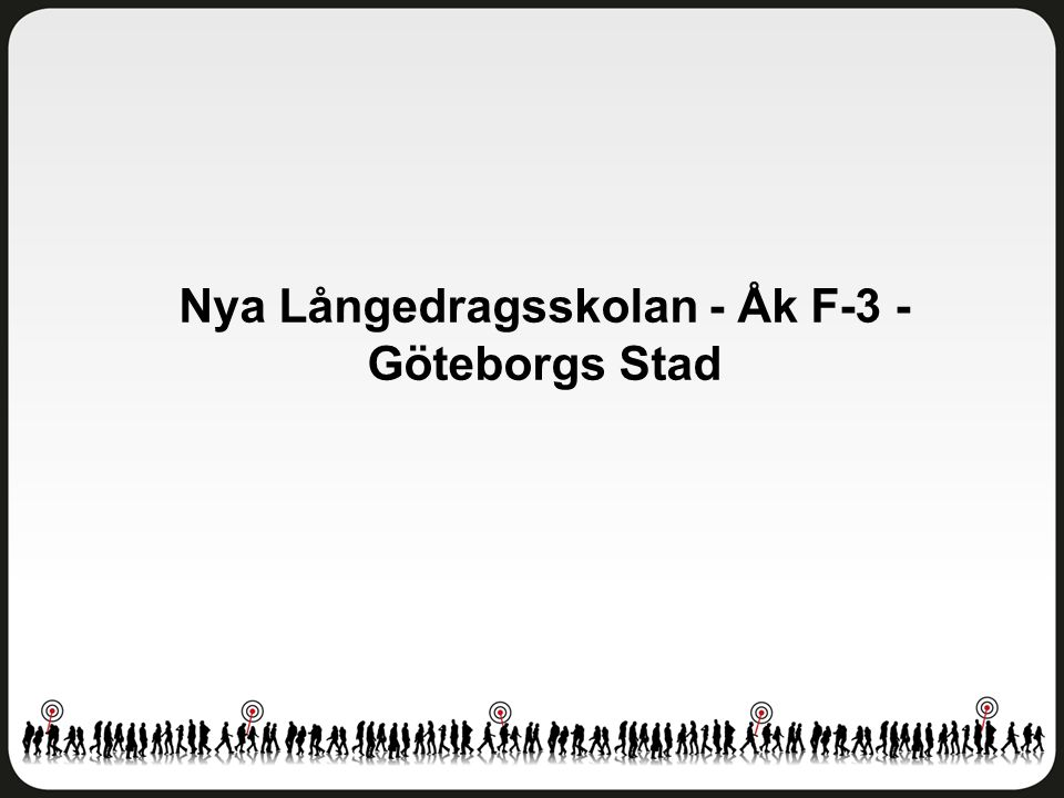 Nya Långedragsskolan - Åk F-3 - Göteborgs Stad