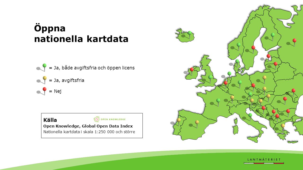 Öppna nationella kartdata